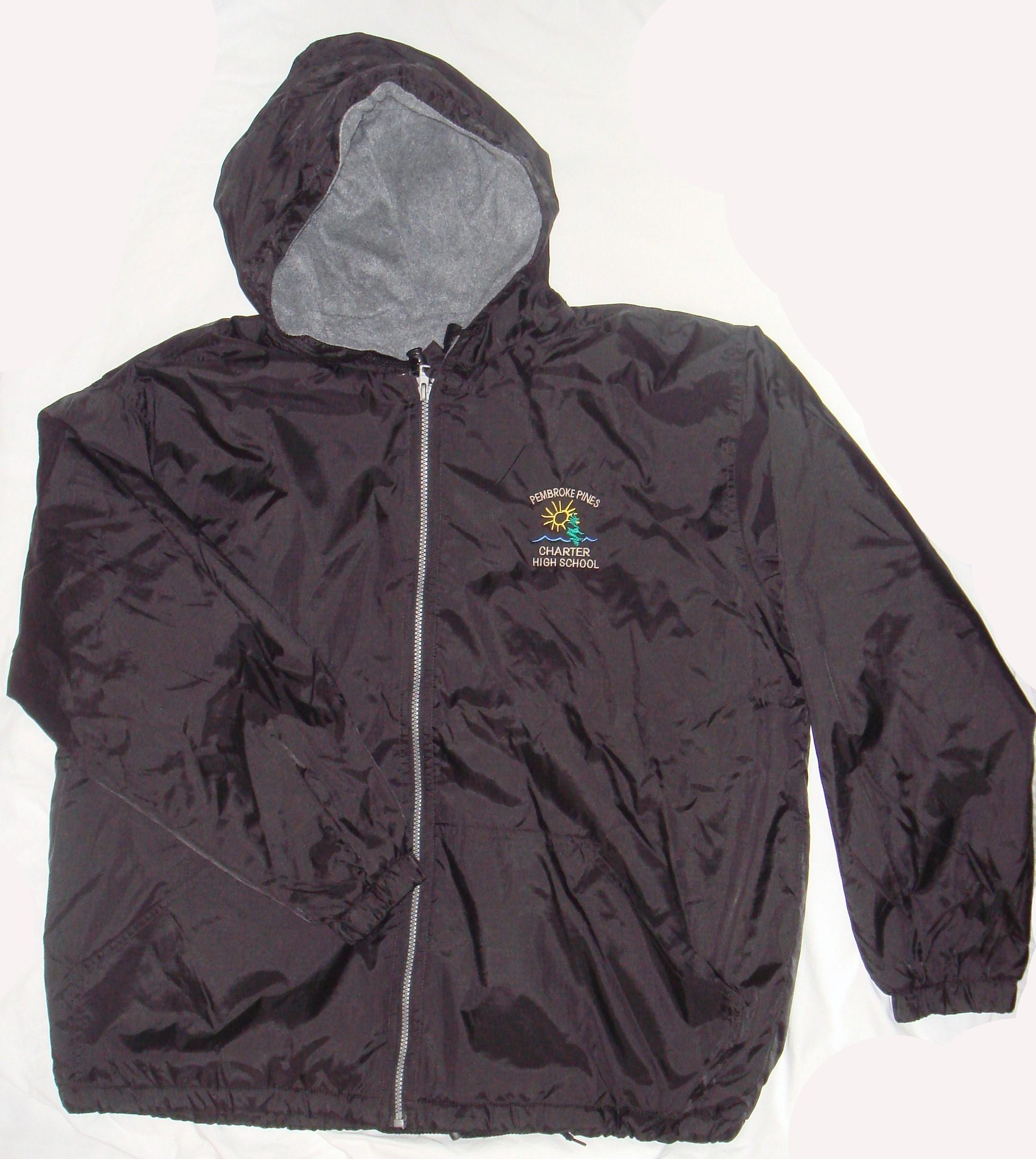 Fleece Nylon Jacket